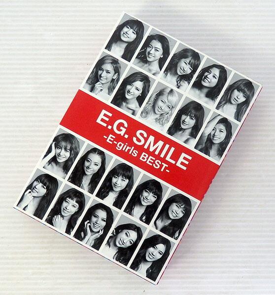 【中古】E.G. SMILE -E-girls BEST【CD+DVD】【米子店】