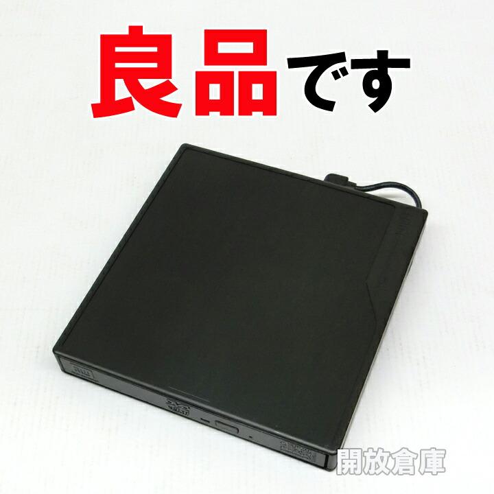 ★良品です! Logitec ポータブルDVDドライブ USB2.0 ブラック LDR-PME8U2LBK 【中古】【デジタル家電】【PC周辺機器】【山城店】
