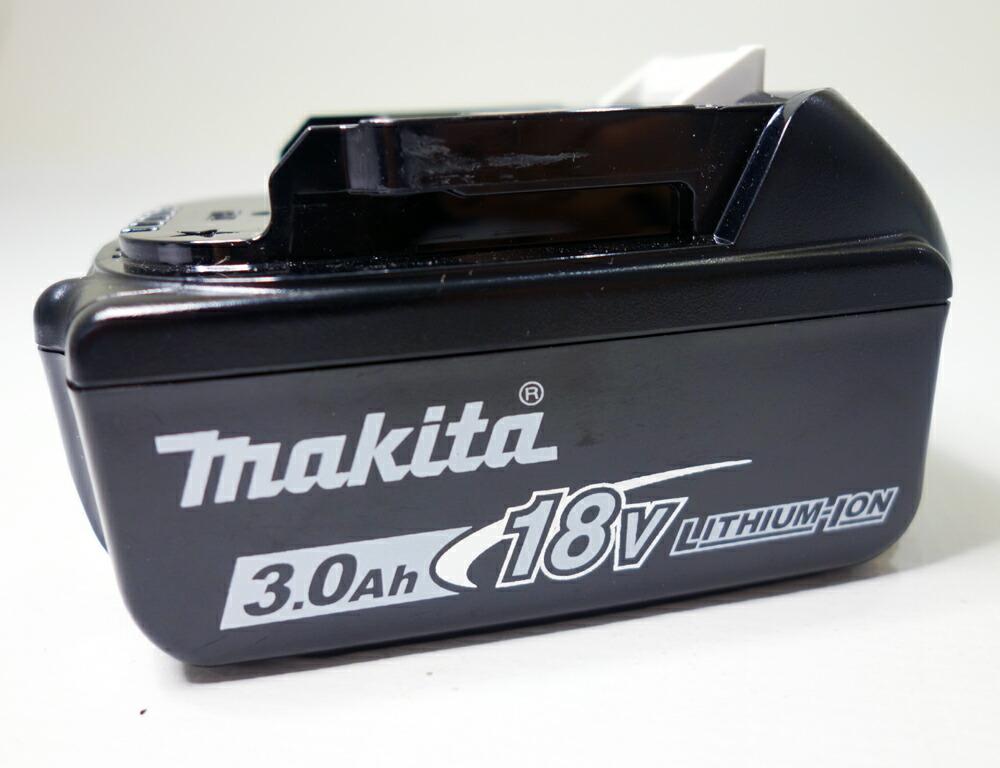 【中古】【美品】makita リチウムイオンバッテリー BL1830B 18V 3.0Ah 【工具】【バッテリー】【家電製品】【福山店】[173]