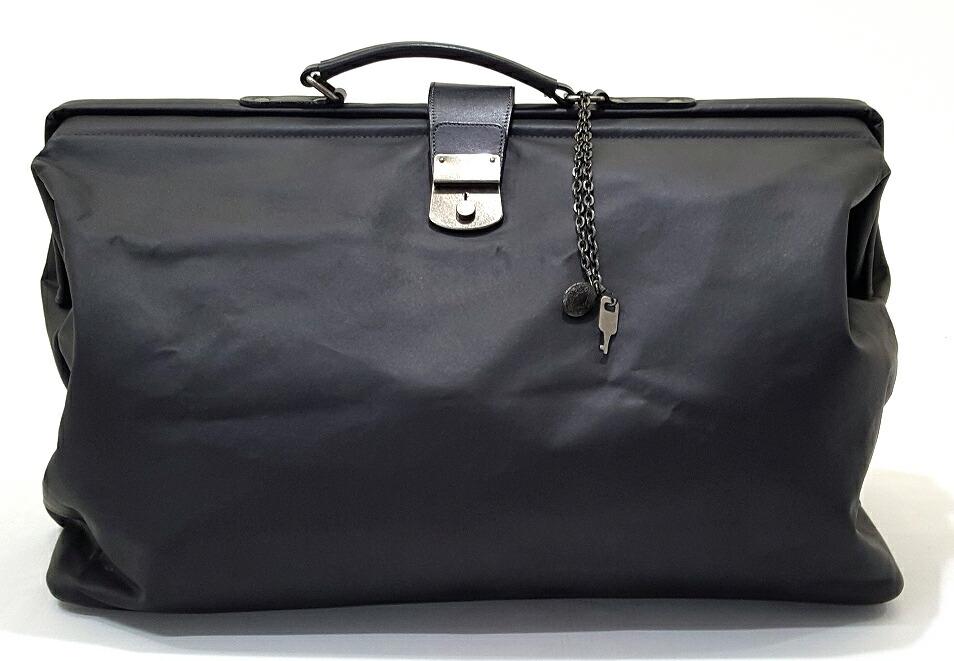 【中古】ジャン ポール ゴルチエ  Jean Paul Gaultier ドクターバッグ ボストンバッグ 鍵付き 黒 【レディース古着】【147】【福山店】【大型140サイズ】