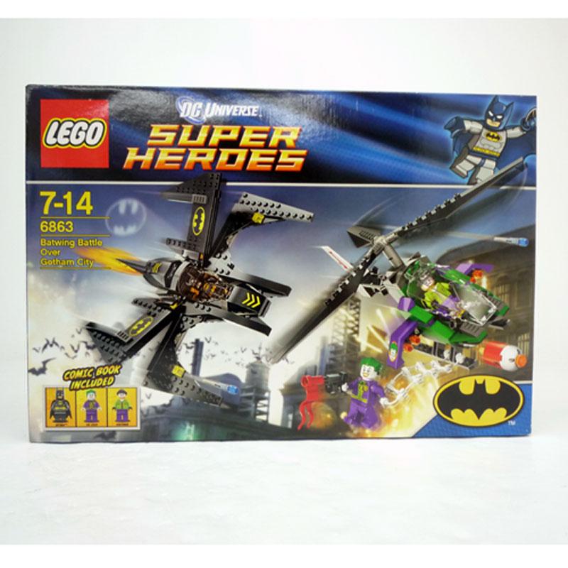 【中古】《未開封》レゴ (LEGO) バットマン スーパー・ヒーローズ バットウィング ゴッサム 6863 【おもちゃ】【山城店】