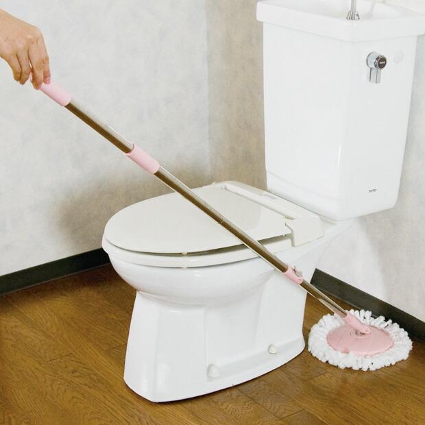 水拭き掃除がラクチン!