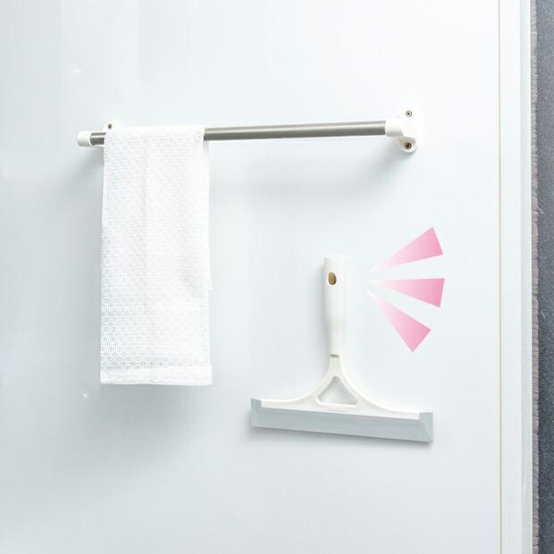 PHPくらしラク~る♪ にて「PK764浴室水切りワイパー」が、優秀洗剤&アイテムとして紹介されました。