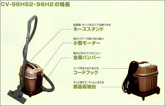 日立掃除機 CV-96H2 お店用掃除機