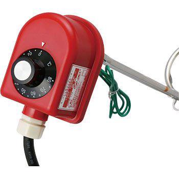 株式会社加島 投げ込みパイプヒーター WPS-110 温度調整器付