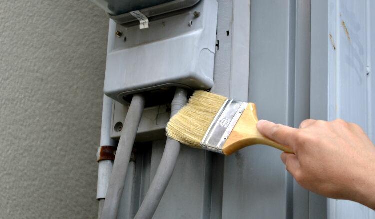 ネズミ侵入防止用塗料