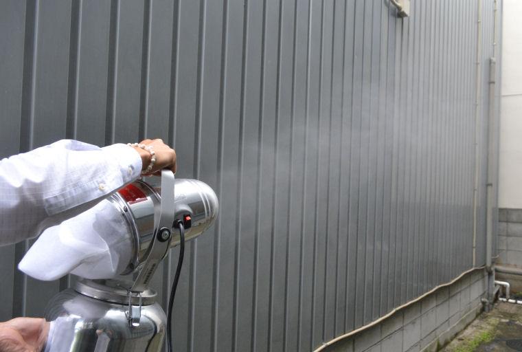 トライロジェット 超微粒子ミスト器 ULV器 噴霧器 殺虫剤・殺菌剤・消臭剤の噴霧に最適