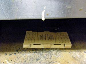 ゴキブリ調査用トラップ