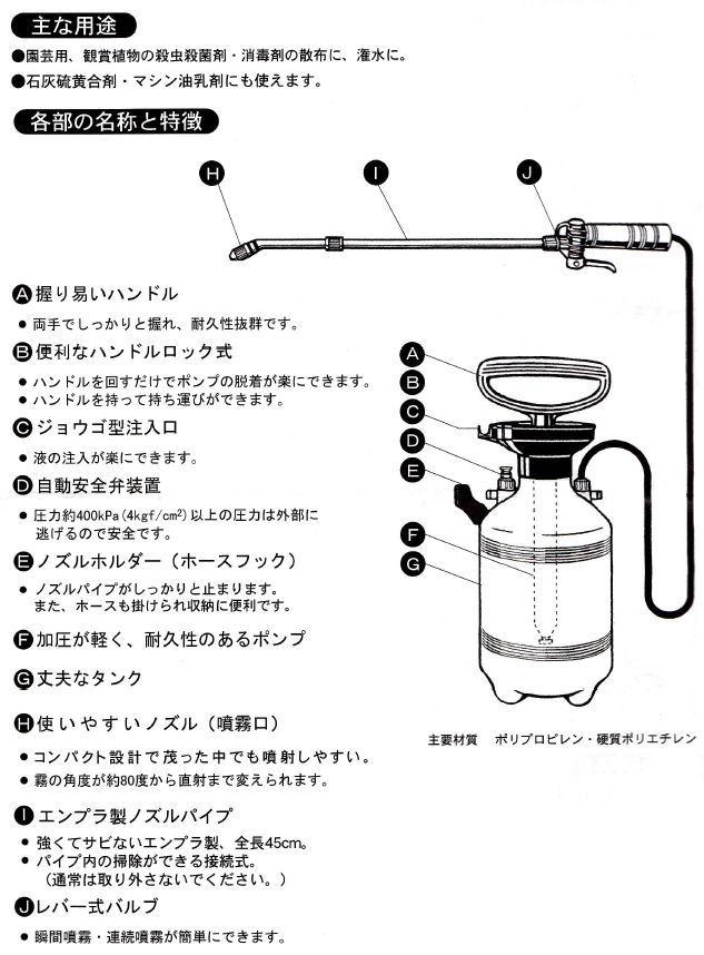 トレボンEW 500ml+噴霧器ダイヤスプレーNo.8740セット