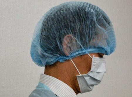 嘔吐物処理キットEL 二次感染防護服 ノロウイルス対策 インフルエンザ感染防止服 食中毒の二次感染防止