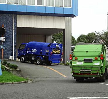 ゴミ処理場の悪臭対策