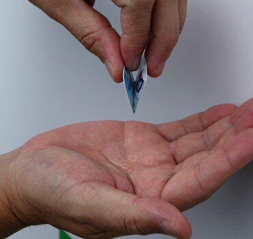 手指消毒剤 インフルエンザ対策