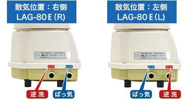 日東工器株式会社LAG-80B 右ばっ気