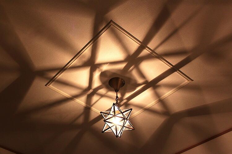 ペンダントライト エトワール 星型