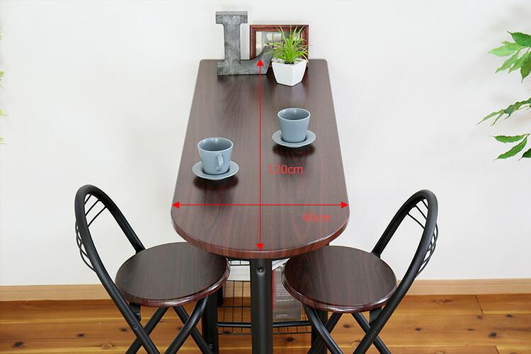 カウンターテーブル&チェアセット
