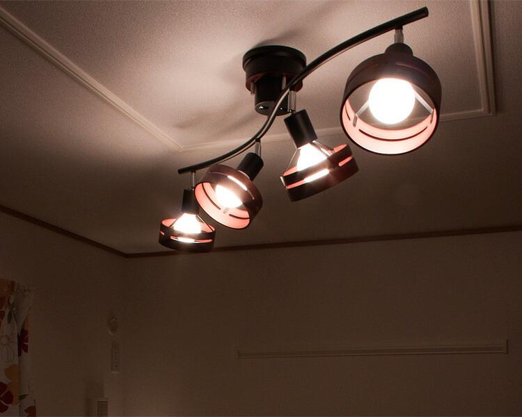 リモコン式4灯スポットライト照明 SPOT LIGHT/ARCHE-アーチェ-