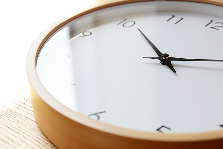 北欧 ナチュラル 掛け時計 モイ