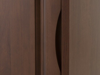 天然木アルダー材カウンター下収納 幅90cmタイプ