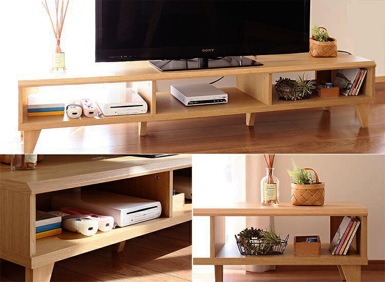 オープンタイプのシンプルテレビボード デルタ DELTA おしゃれに魅せる、オープンデザイン