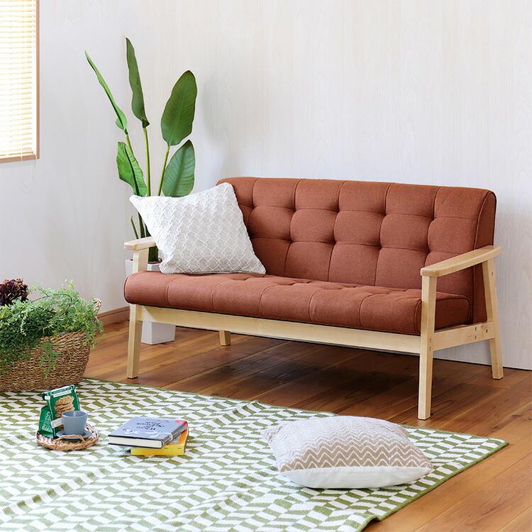 2人掛けソファ「KURASIS(クラシス)」の画像。当店ソファ・座椅子ランキング1位獲得!