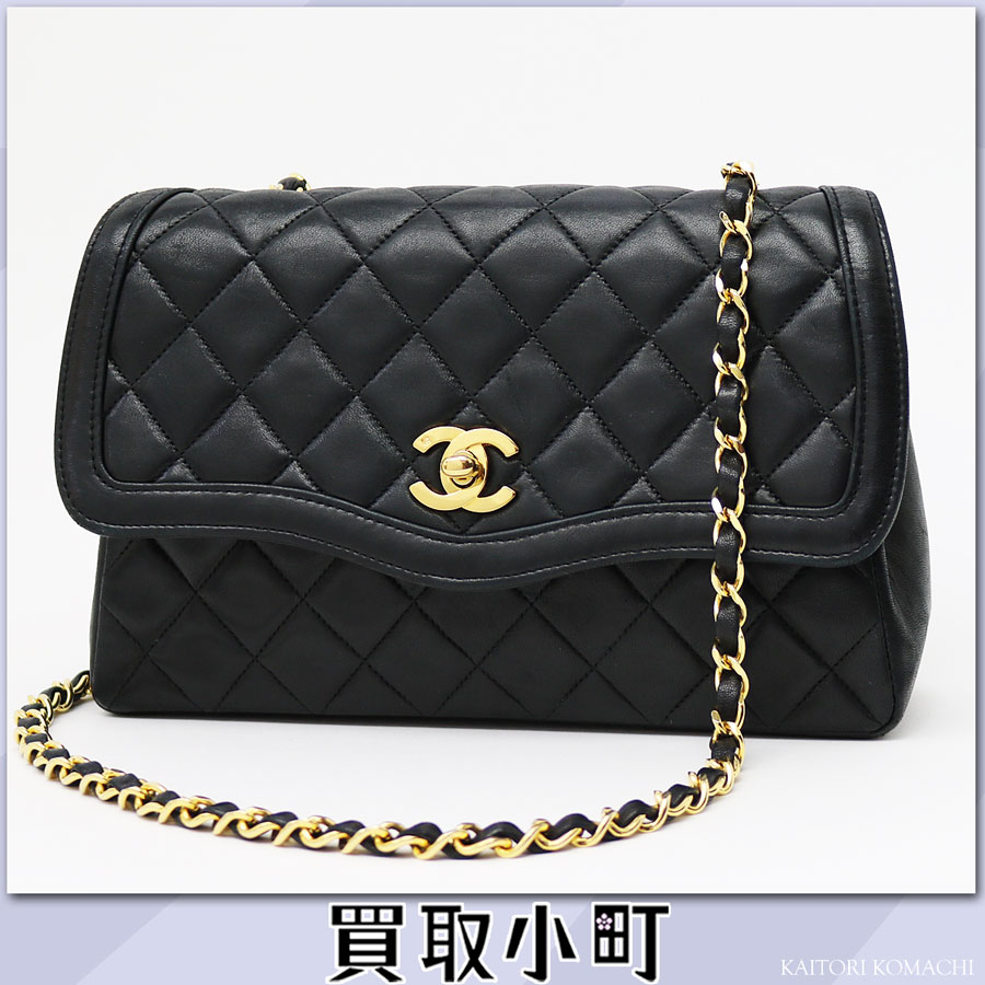 1256da496872aa Chanel Matelasse Plate Mini Chain Bag Gold | Stanford Center for ...