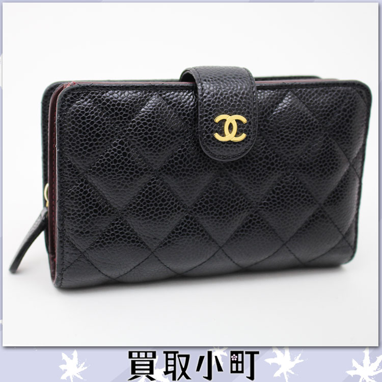 8aec262ed765 Chanel Classic Zipped Wallet Caviar | Stanford Center for ...
