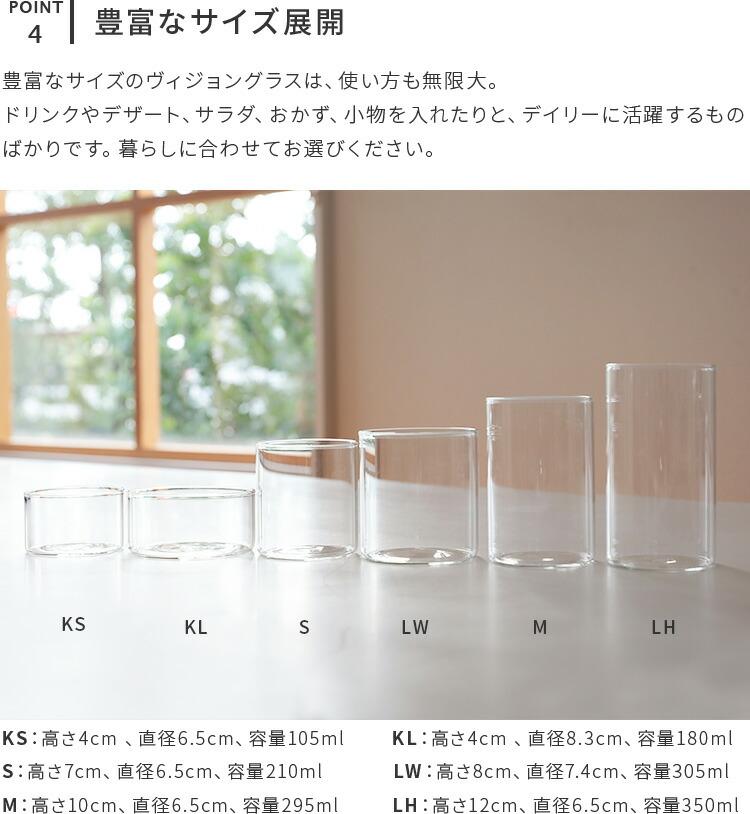 BOROSIL VISION GLASS S ボロシル ヴィジョングラス