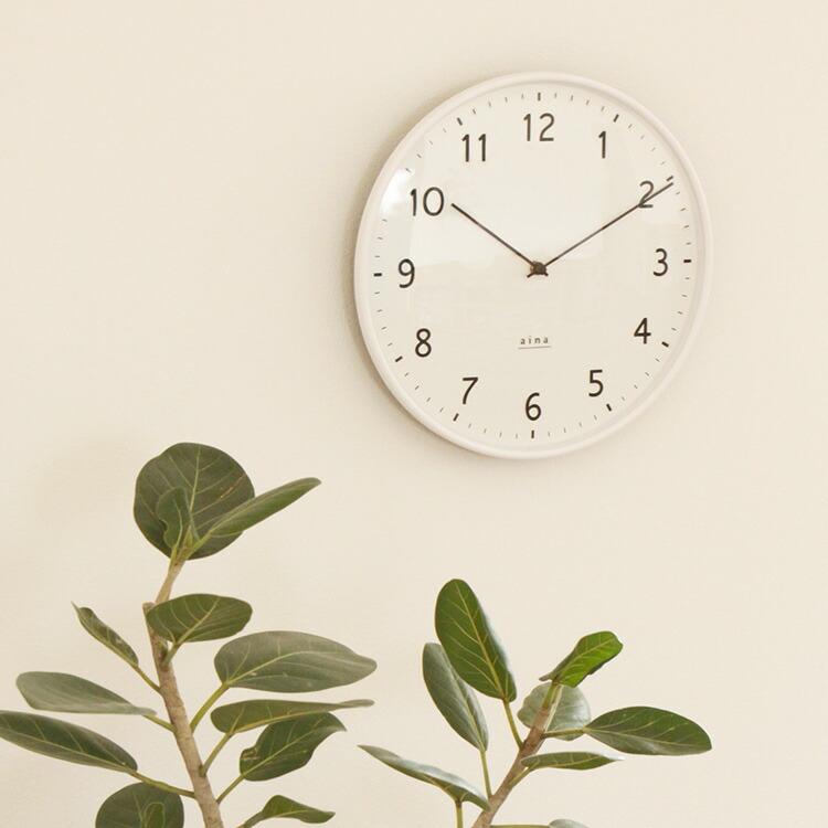 壁掛け時計 linja aina [アイナ] メインイメージ画像
