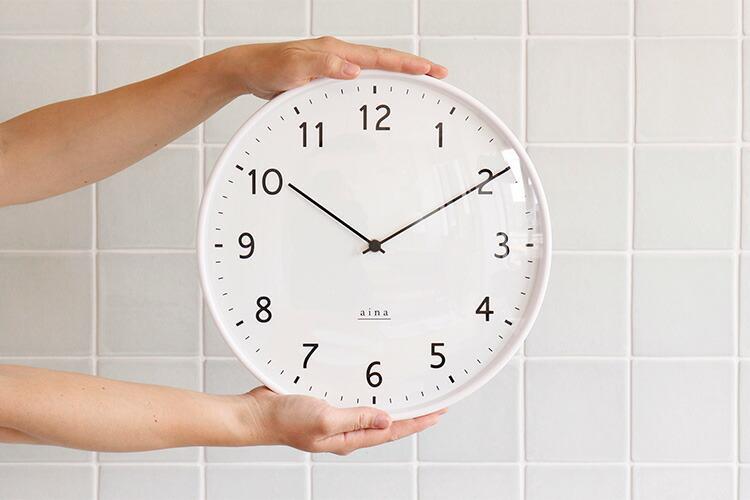 壁掛け時計リンヤの全体像の画像