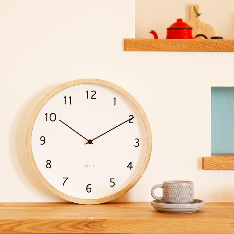 壁掛け時計 loma ロマ aina [アイナ] メインイメージ画像