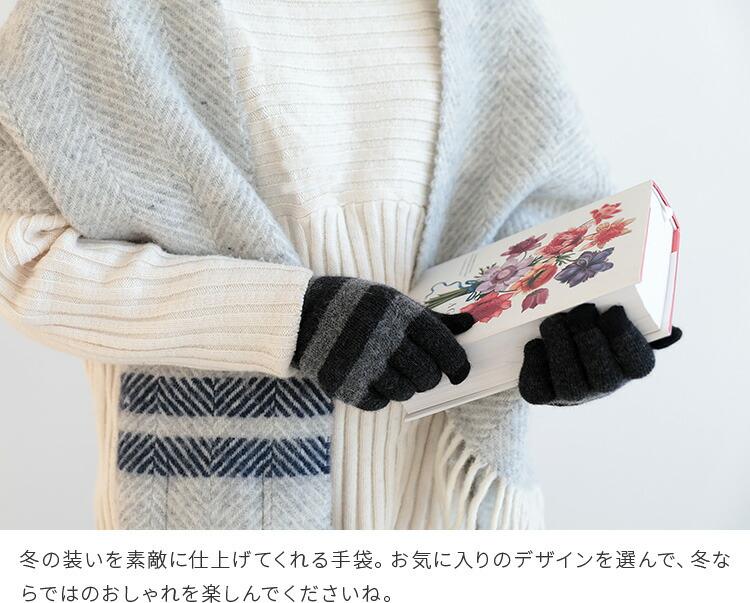 テスタバ 男女兼用 スマートフォン対応 手袋 タッチグローブ MARSH