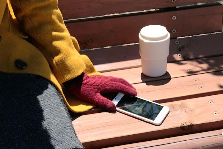 エヴォログ スマートフォン手袋 ミノス