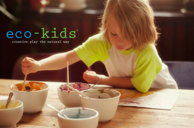 Eco-Kids eco-finger paint エコキッズ エコ・フィンガーペイント