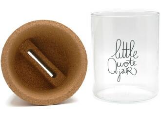 Make History LITTLE QUOTE JAR メイク・ヒストリー リトル・クオ・ジャー