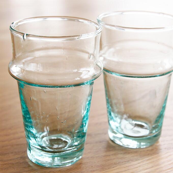 dear morocco ディアモロッコ リサイクル ティーグラス 10cm