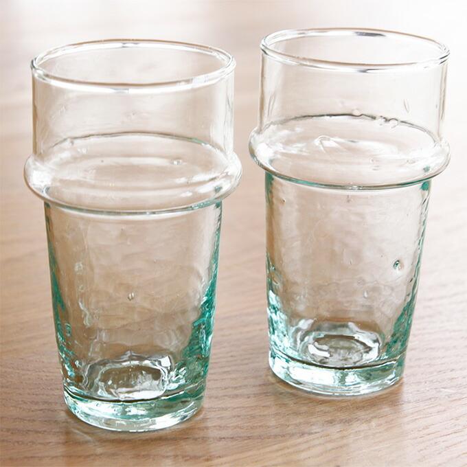 dear morocco ディアモロッコ リサイクル ティーグラス 12cm