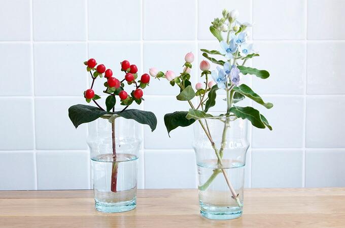 dear morocco ディアモロッコ リサイクル ティーグラス 13cm