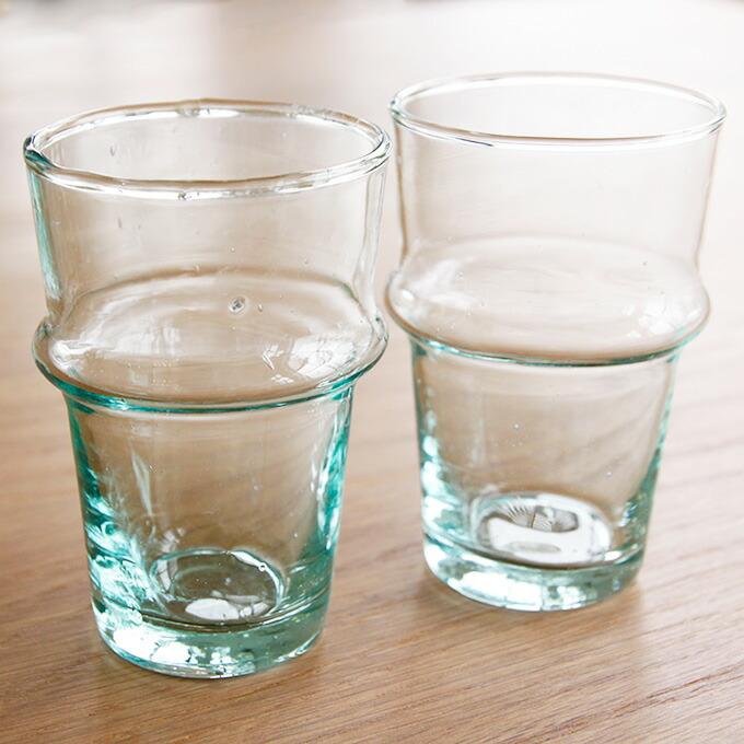 dear morocco ディアモロッコ リサイクル ティーグラス 9cm