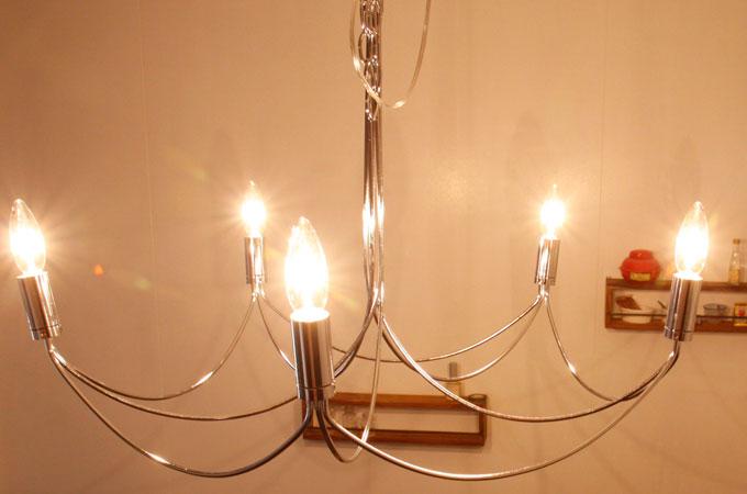 シャンデリア 5灯 アルコ グランデ [arco grande chandelier]ディクラッセ[DI ClASSE]