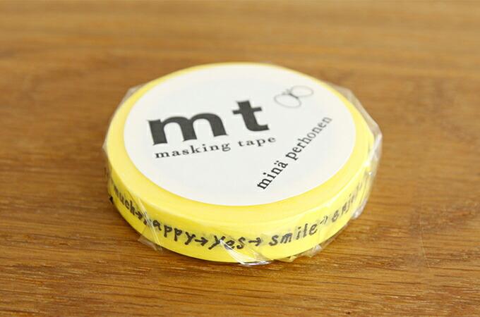 マスキングテープ mt × ミナ・ペルホネン shiritori