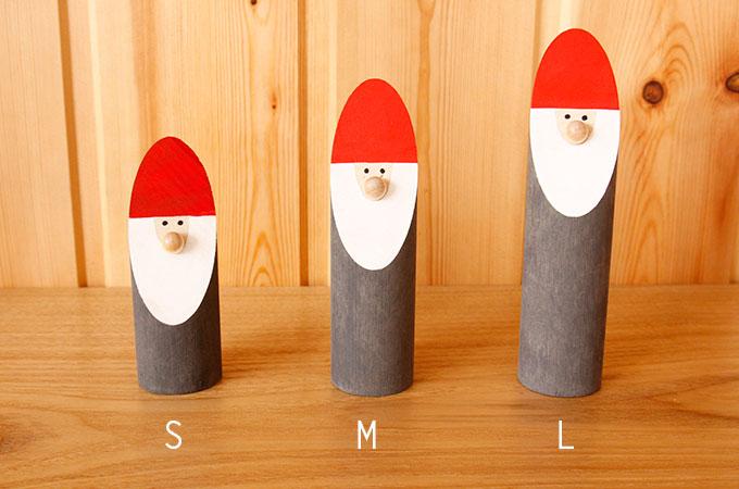 ラッセントレー スウェーデン クリスマス切り株トムテ Lサイズ