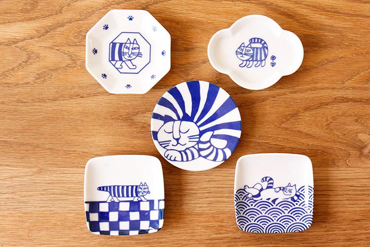 リサ・ラーソン 豆皿5枚セット