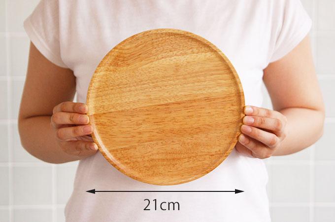 食器 ACACIA ウッドプレート ラウンド Mサイズ