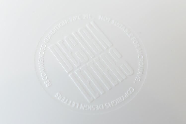 デザインレターズ メラミンプレート 21cm