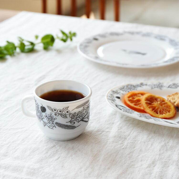 松尾ミユキ ミルクガラス フォレスト マグカップ
