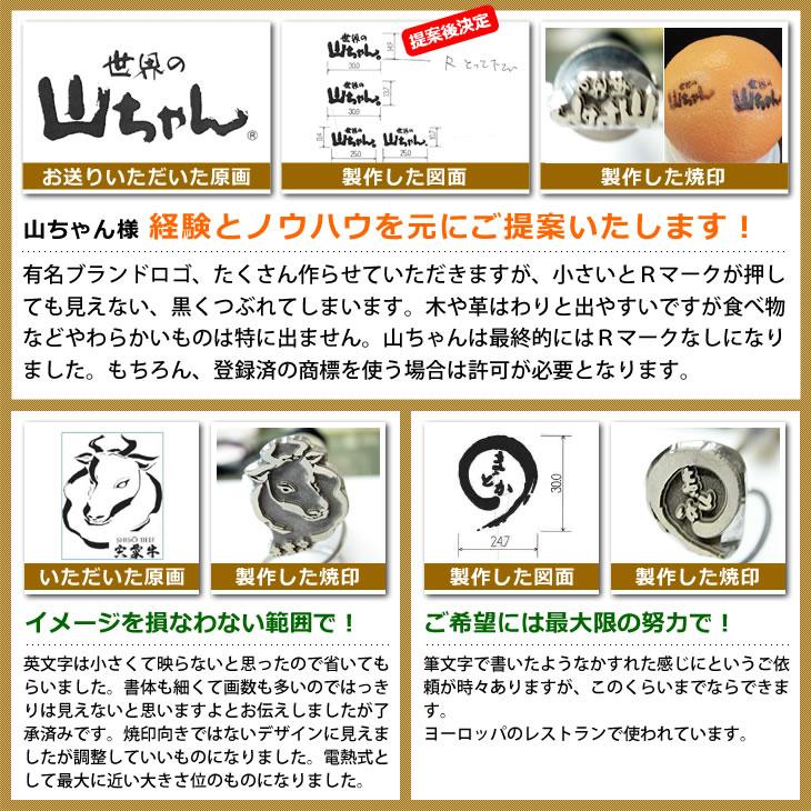 焼印の使用方法