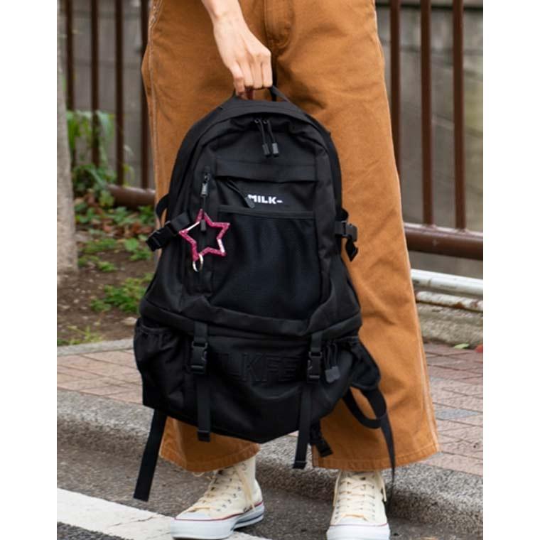 MILKFED(ミルクフェド)のリュック(バックパック)収納力があるのでマザーズバッグや通学用におすすめです