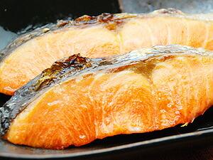 北洋紅鮭切り身