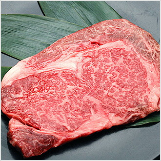 福島県産牛肉のステーキ肉