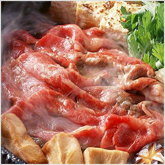 福島県産牛肉のすき焼き肉